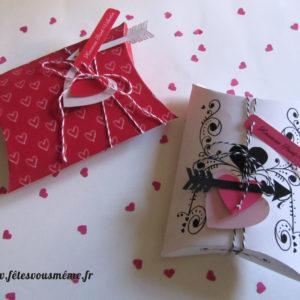 Boites cadeaux Saint Valentin - Fêtes vous même