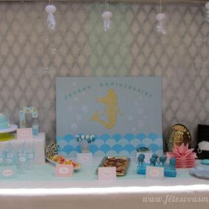 Kit anniversaire Sirène- Monde la mer - Fêtes vous même