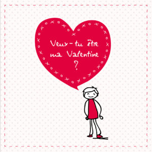 Carte Saint Valentin pour lui - Fêtes vous même