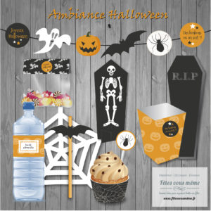 Kit Ambiance Halloween - Fêtes vous même