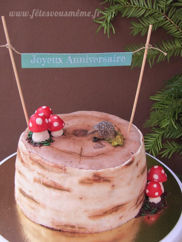 Banderole pour gâteau - Fêtes vous même