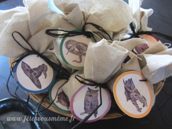 kit anniversaire Harry Potter -kit-deco-harry-potter-étiquettes
