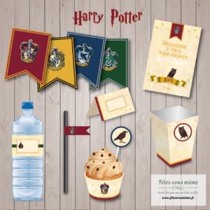 kit anniversaire Harry Potter
