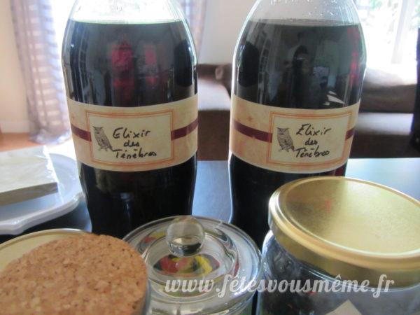 kit anniversaire Harry Potter -kit-deco-harry-potter-contours-bouteilles