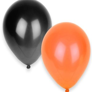 balons-halloween-orange-et-noir