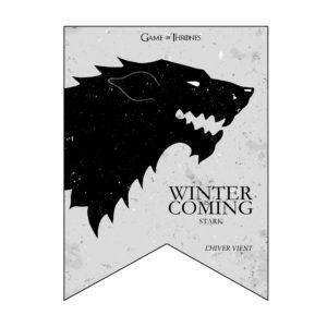Kit déco Game of Thrones - Fanion - Fêtes vous même