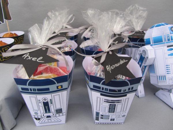 Kit déco Star Wars - Cadeaux invités - Fêtes vous même