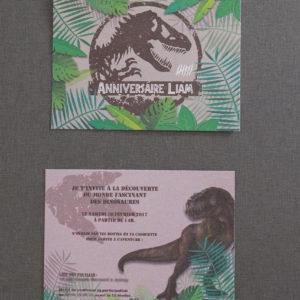 Invitation Jurassic
