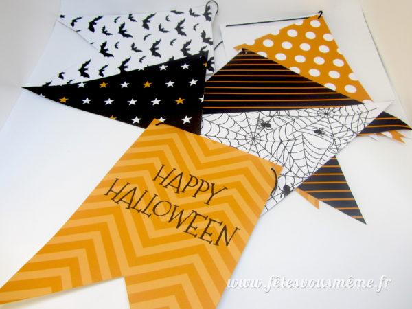 Pack Festif Halloween - Fanions - Fêtes vous même
