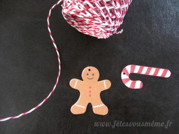 Etiquettes cadeaux Noël - Fêtes vous même