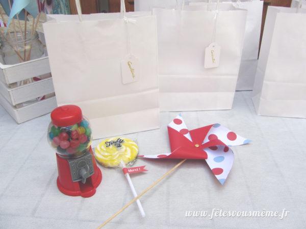 sacs papier kraft blanc - Fêtes vous même