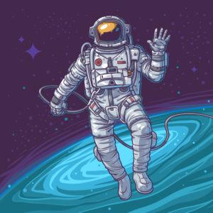 Astronaute-Espace