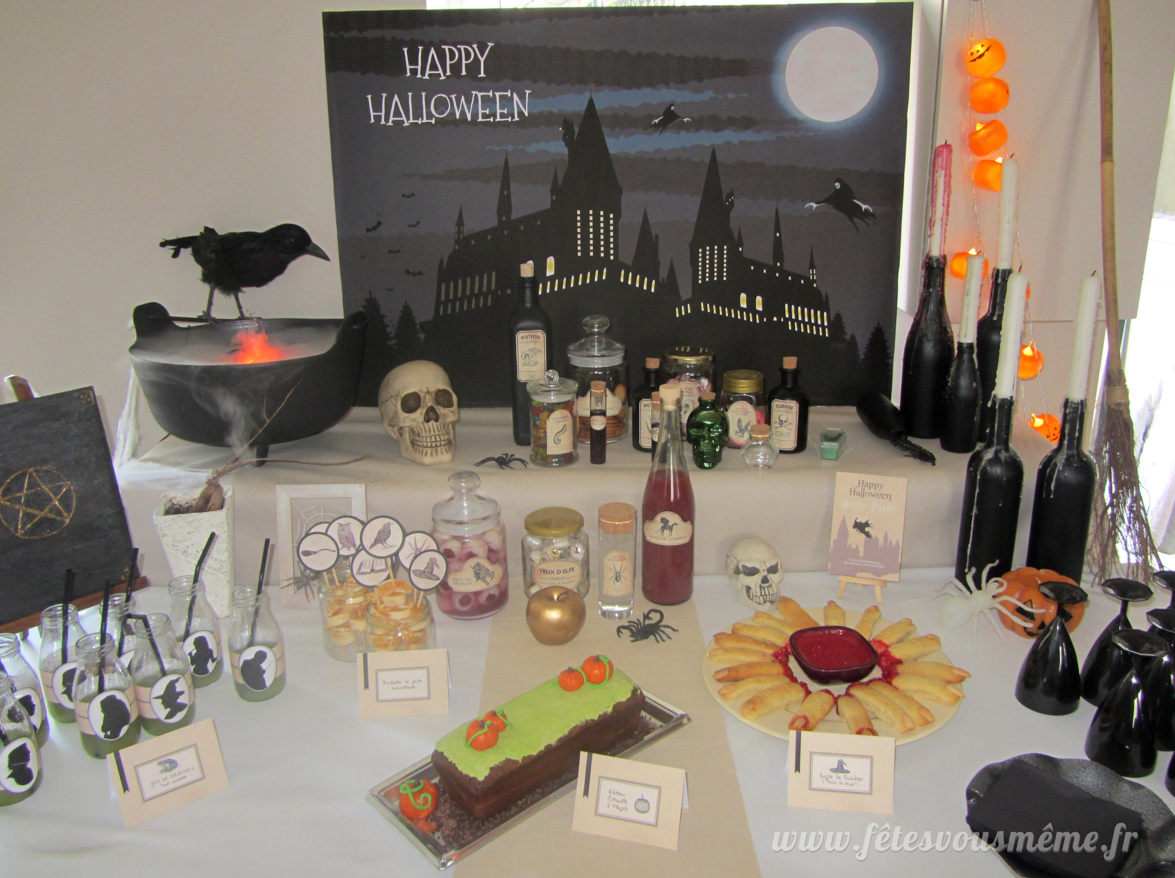 répliques grand assortiment trouver le prix le plus bas Kit déco Halloween d'Harry Potter